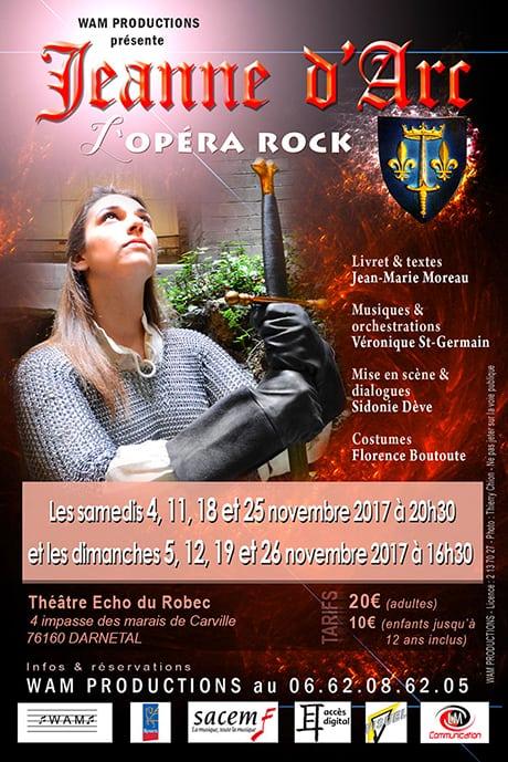 Jeanne d'Arc, l'Opéra Rock