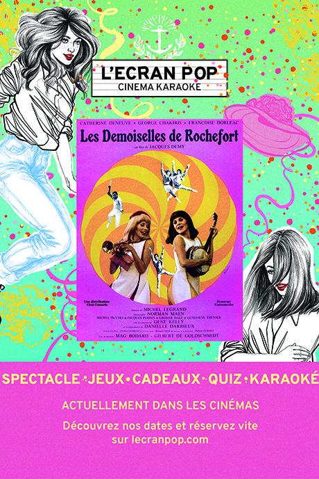 Les Demoiselles de Rochefort - Ecran Pop