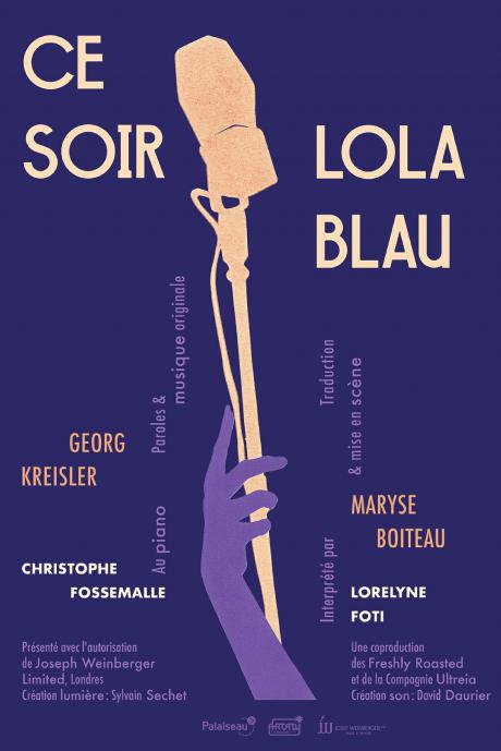 Ce soir : Lola Blau