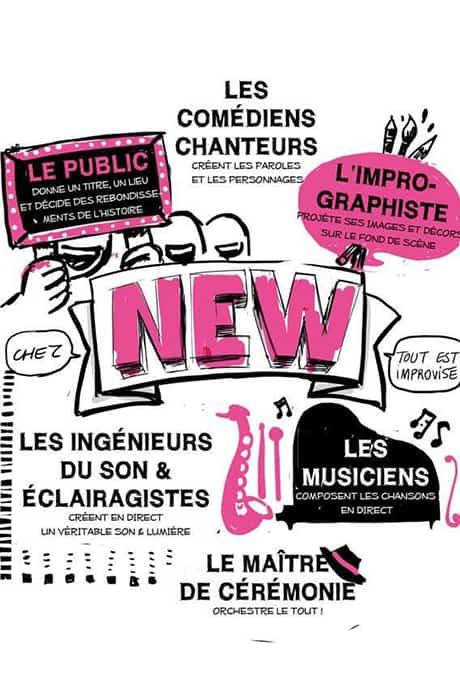New - La comédie musicale improvisée